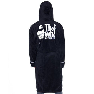 The Who Maximum R&B Black Fleece Dressing Gown