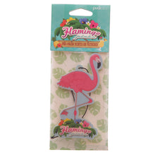 Load image into Gallery viewer, Flamingo Pina Colada Scented Air Freshener