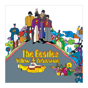 The Beatles Yellow Submarine Square Greeting Card