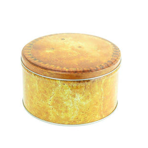 Pork Pie Round Storage Tin