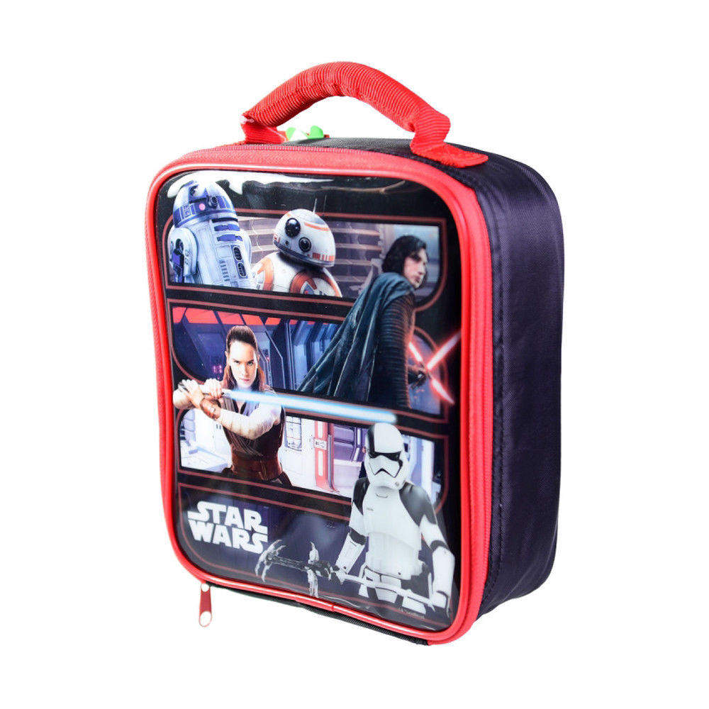 Star Wars The Last Jedi Heroes & Villains Insulated Lunch Bag