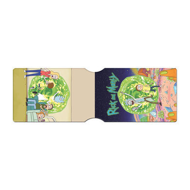 Rick & Morty Portal ID Travel/Oyster Card Holder