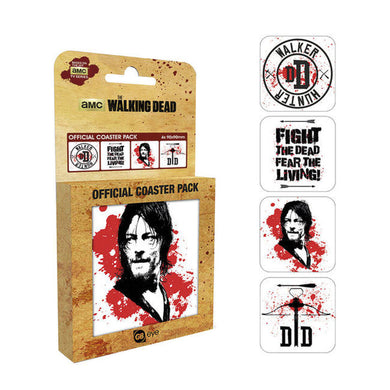 The Walking Dead Set of 4 Coasters