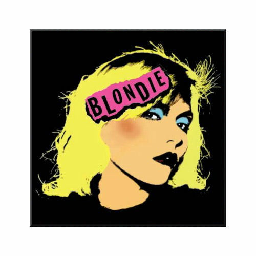 Blondie Punk Logo Fridge Magnet