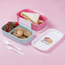 Load image into Gallery viewer, Pusheen 3 Compartment Lunch Box Set