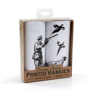 2 Pack Of Shooting Scene Hankies