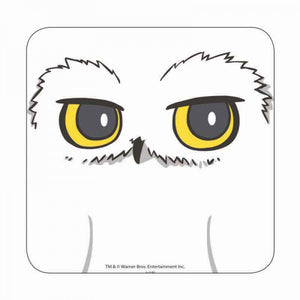 Harry Potter Hedwig Close Up Coaster