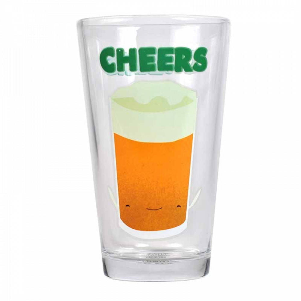 Jolly Awesome Cheers Beer Large Glass