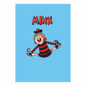 Minnie The Minx Greeting Card
