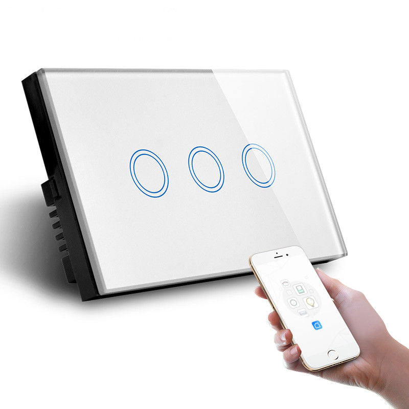 3 Gang AU Standard Smart Light Switch best in 2019 - Smart Home Labs
