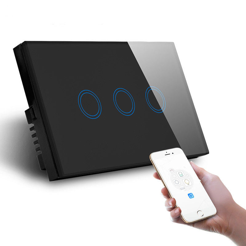 3 Gang AU Standard Smart Light Switch best in 2019 Australia - Smart Home Labs