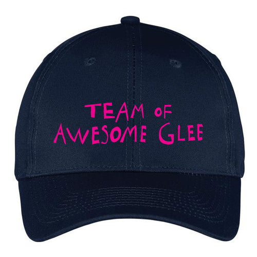 Paradisco Team of Awesome Glee Navy cap