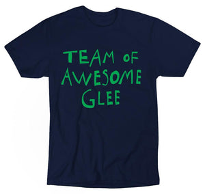 Paradisco Team of Awesome Glee navy t-shirt