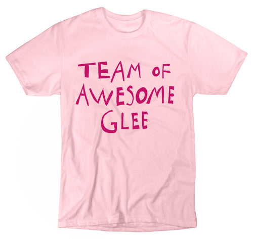 Paradisco Team of Awesome Glee pink t-shirt