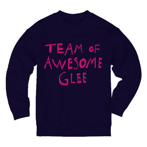 Paradisco Team of Awesome Glee Navy Sweatshirt