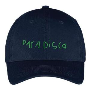 Paradisco navy green cap