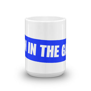 """Skin In The Game""  15 0z Coffee Mug - DD MUSIC & MERCH"
