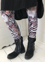 Leggings med bling bling
