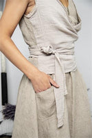 Vest - Best hopes - Linen color