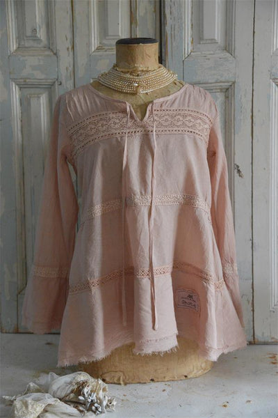 Blouse, Divine Joy, Tea Rose