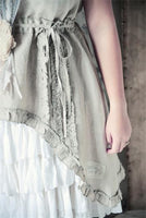 Dress-Joyful faith-Linen color SISTA EXET
