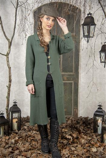 Cardigan - Classic moments - Green