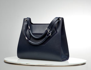 SIX Collection Modern Tote - Blue
