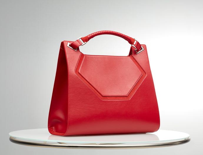 SIX Collection Modern Tote - Red