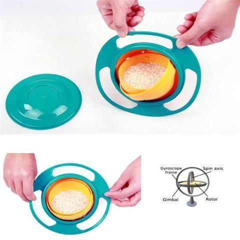 The 360-degree Spill Resistant Toddler Bowl - FREE WORLDWIDE SHIPPING