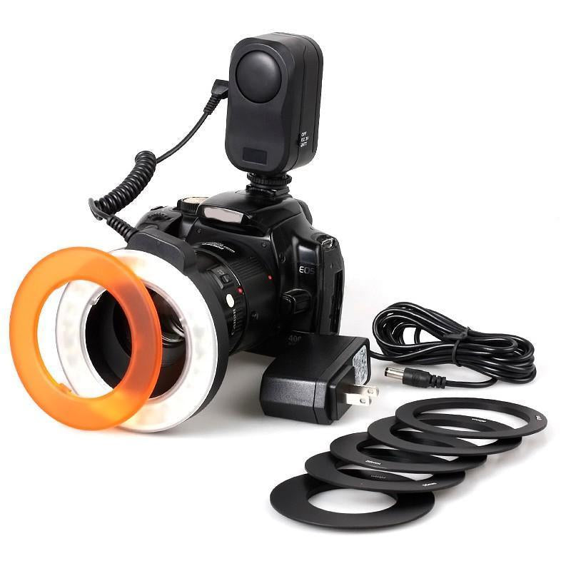 LED Macro Ring Flash Set