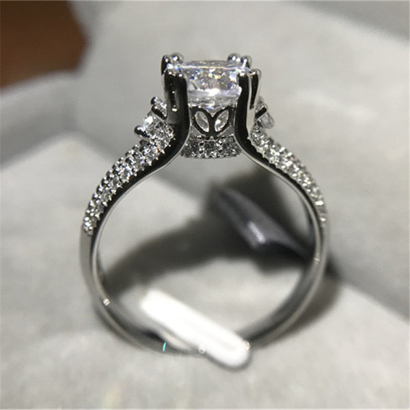 Royal Crown Split Band Ring