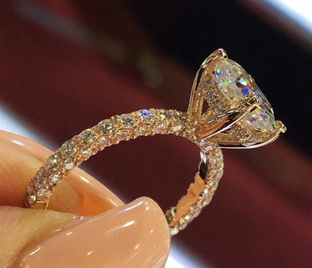 Vintage Princess Diamond Ring