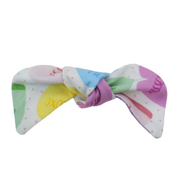 Candy Heart Hair Bow