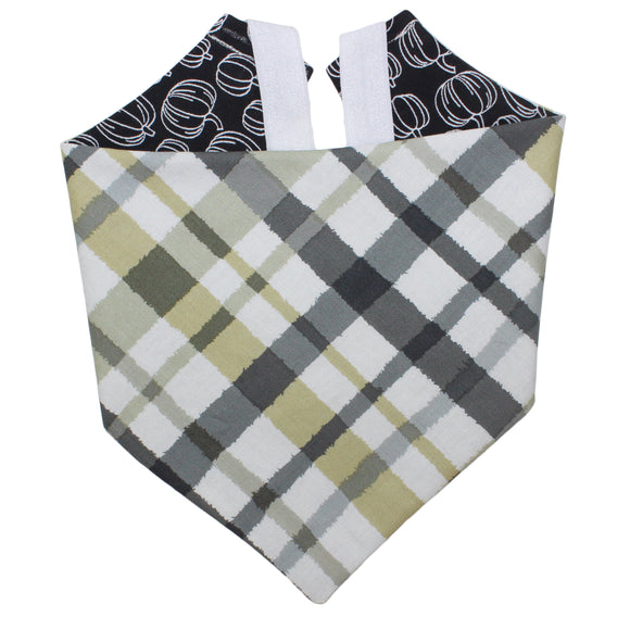 Green And Black Plaid Bandana