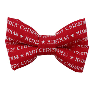 Merry Christmas Bow Tie