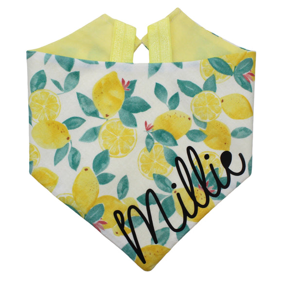Lemon Leaf Bandana