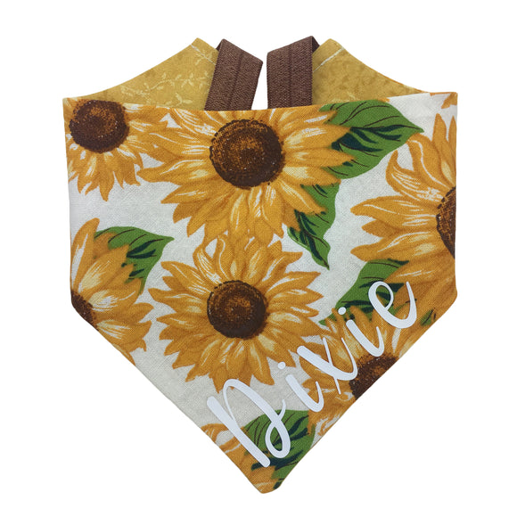 Sunflower Bandana