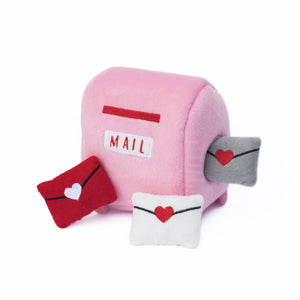 Mailbox Love Letters Burrow Dog Toy