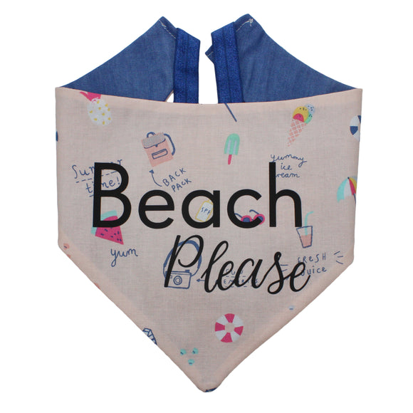 Beach Please Bandana