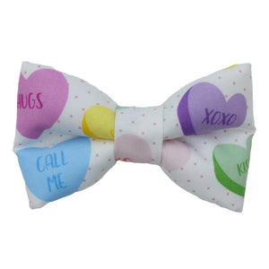 Candy Heart Bow Tie