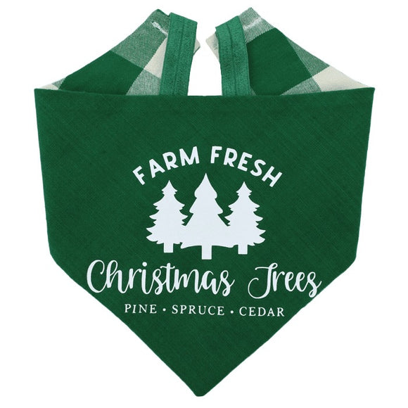 Christmas Tree Farm Bandana