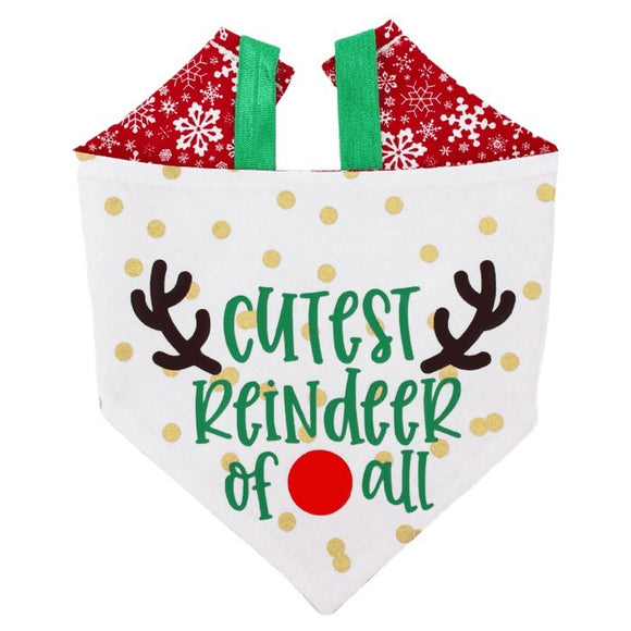 Cutest Reindeer Of All Bandana