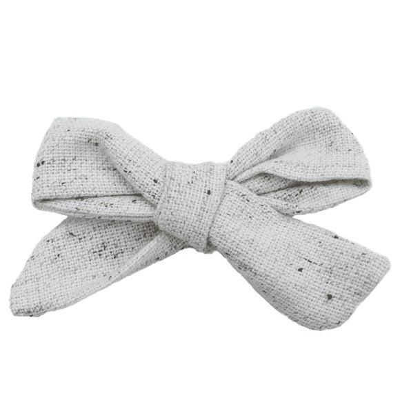 Speckled Woven Hair Bow