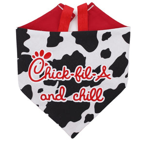 Chick-fil-a And Chill Bandana