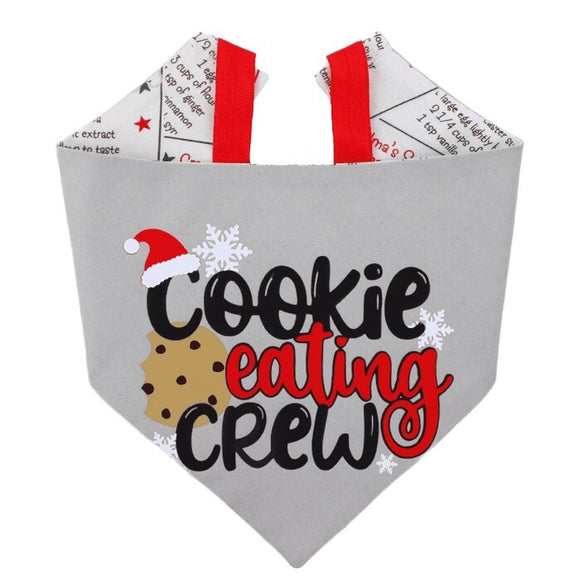 Cookie Eating Crew Bandana