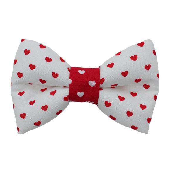 Mini Hearts Bow Tie