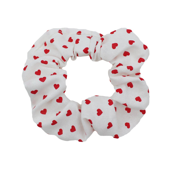 Mini Hearts Scrunchie