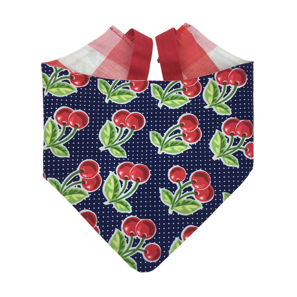 Retro Cherry Bandana