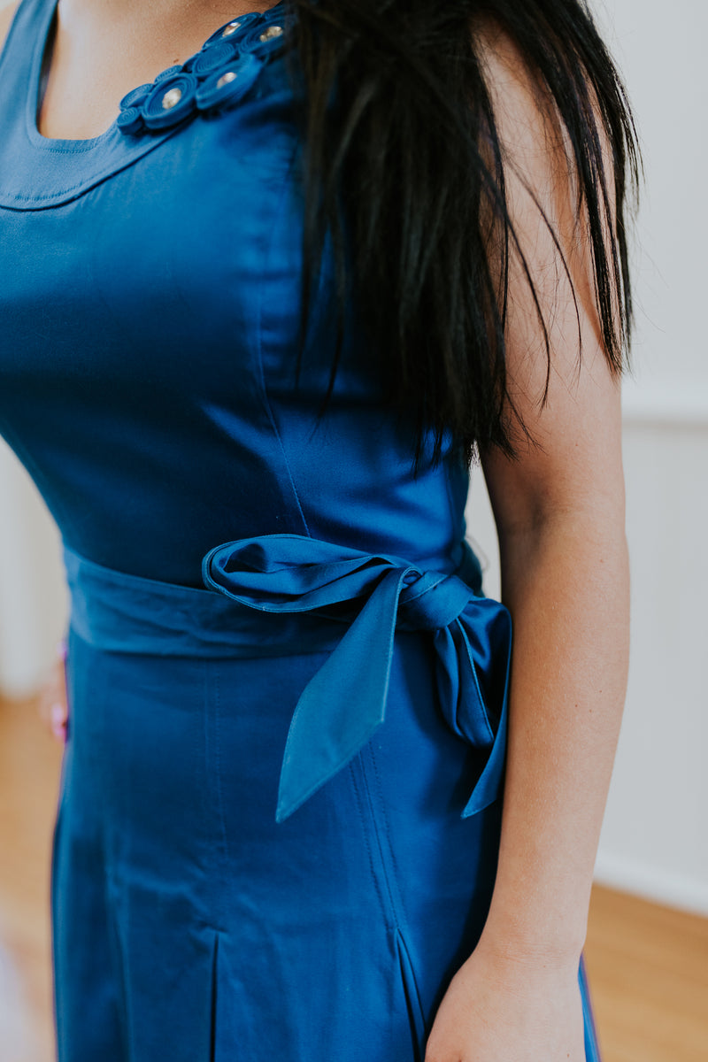 Stunning Blue Cocktail Dress