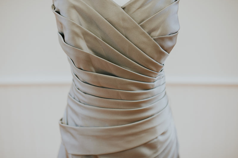 Grey Cocktail Dress